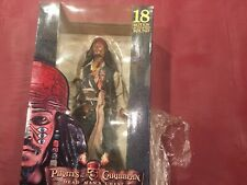"Pirates Of The Caribbean Cannibal Jack 18"" Figure NECA Motion Activated Sound"