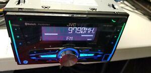 JVC KW-R910BT CD/MP3 Stereo Receiver Bluetooth AUX / USB Iheart