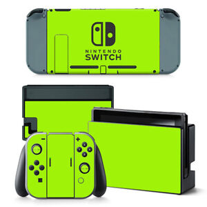 For Nintendo Switch Console Joy-Con Skin Vinyl Decals Stickers Covers