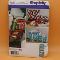 Simplicity 1128 Totes Organizers Auto Car Bags Craft Case Sewing Pattern Uncut
