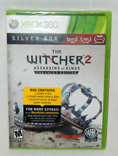 The Witcher 2 Assassins of Kings Enhanced Edition Silver Box XBOX 360 MAP MANUAL