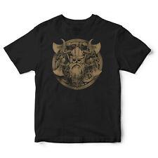 Viking Warrior Mens T-Shirt Odin Ragnar Floki Norse Valhalla Top TV Show