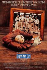 EIGHT MEN OUT (1988) ORIGINAL MOVIE POSTER  -  ROLLED