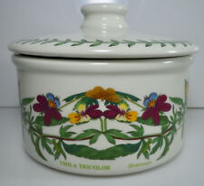 Portmeirion Botanic Garden Individual Casserole and Lid Heartsease Viola 5""