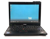 "Lenovo X201 ThinkPad Tablet 12.1"" i7 620LM 2.0GHZ 4GB 320GB Win 7 Pro NWC"