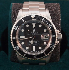 Rolex 1680 40mm SS Oyster Perpetual Submariner Date, Black Time-Lapse Bezel