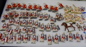 Call to Arms, Italeri and Marx 54mm Romans Painted 65 total