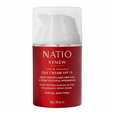 Natio Renew Line & Wrinkle  Day Cream SPF15 -  50g - Brand New!