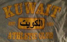 Kuwait Kuwaiti Est. 2003 Athletic Club Middle East Eastern Gray Grey T-Shirt M