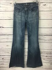 7 For All Mankind Women's Jeans Size 26 Ginger Flare Medium Wash RN 718449