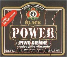 Poland Brewery Pokrówka Power Beer Label Bieretikett Etiqueta Cerveza pk2.4