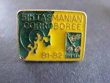 1981 5th Tasmanian Corroboree Scouts Badge