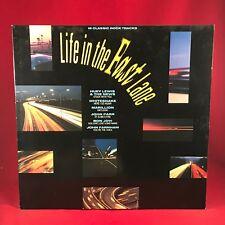 VARIOUS Life In The Fast Lane 1987 UK Vinyl LP EXCELLENT CONDITION bon jovi a