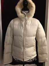 5f24f59f7b Prada Ski Ivory Jacket Tg 40