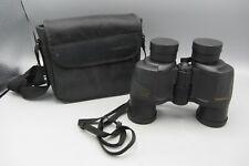 Vintage Tasco Outdoor 8 x 40mm Binoculars 420ft/1000yds BAK4 w/ Case - # 3-840RB