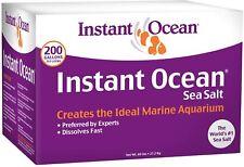 New listing Instant Ocean Sea Salt 200 Gallons, for Marine Aquariums, Fast Dissolving