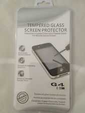 TEMPERED GLASS SCREEN PROTECTOR ANTI SCRATCH FILM For LG G4 H815  UK SELLER