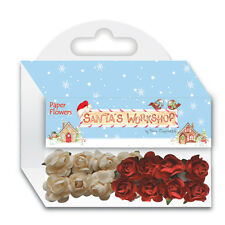 Helz Cuppleditch Santa's Workshop Paper Flowers