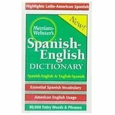Merriam-Webster's Spanish-English Dictionary (Hardback or Cased Book)