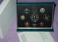 1993 ROYAL MINT PROOF SET COINS - £5 Coronation Crown