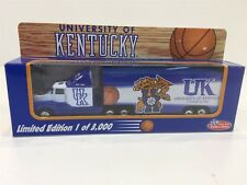 1995 University Of Kentucky Limited Edition Semi Truck Trailer White Rose NIB