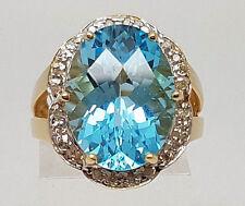 Gioielli e gemme di diamante naturali blu