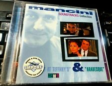 Breakfast at Tiffany's & Arabesque (Soundtrack) by Henry Mancini (CD NEW 2 On 1
