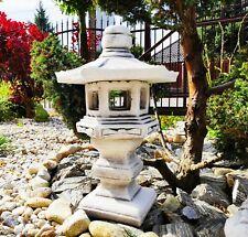 "Cast stone Garden ornament decor - Stone Japanese Style Pagoda/Lantern ""Dabotap"""