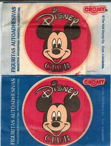 Argentina 1994 Cromy Disney Club Sticker Pack