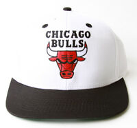 Adidas Chicago Bulls Flatbill Snapback Hat + GT Sweat Wristband- Black