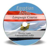 Egyptian Arabic Language Course - Learn Speak 32 Hrs Audio MP3 + Books on CD 189