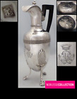 RARE ANTIQUE 1809 FRENCH STERLING SILVER KETTLE PITCHER PARIS 1809-1819 EMPIRE