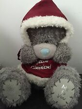 "12"" ME TO YOU TATTY TEDDY PLUSH ~ SPECIAL GIRLFRIEND in a XMAS SANTA SUIT"