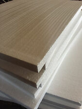 LARGE Styrofoam 6 Sheets 18 1/4x15x 3/4 Foam Board Flats Crafts Packing Shipping