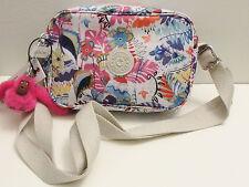 NWT Kipling Dee Crossbody Purse Handbag Whimsy Floral Print