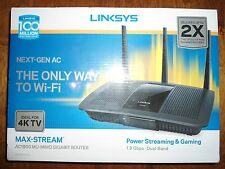 LINKSYS AC1900 (EA7500) MAX-Stream SMART Wireless Wi-Fi MU-MIMO Gigabit Router
