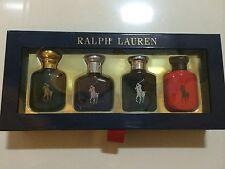 RALPH LAUREN POLO Classics MINI GIFT SET 4x15ml/0.5oz EDT polo blue black red