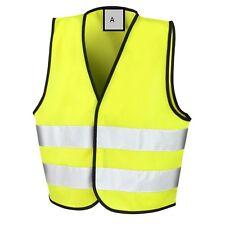 New Children Kids Hi Vis Safety Vest, 3 Sizes, Colour Fluorescent Yellow