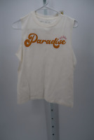 WOMEN'S PARADISE GRAPHIC TANK TOP- FIFTH SUN CREAM XS - NEW W/ TAGS