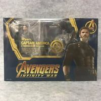 S.H.Figuarts SHF Avengers Infinity War Captain America 6'' Figure Deluxe Edition