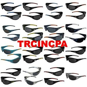 NFL 3 Dot Sport Wrap Around Sunglasses - Pick Your Team - FREE SHIPPING