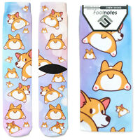 Corgi Dog Crew Socks - Footnotes Novelty Socks