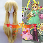 Star vs.the Forces of Evil Magic Princess Star Butterfly Cosplay Wig Hairnet