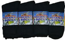 12 Pairs Women Ladies Thermal Warmth Quality Hiking Casual Socks UK 4-6 Black