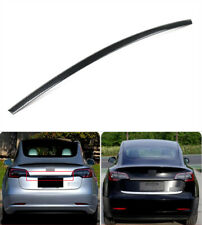 Stainless Rear Upper Rear Trunk Lid Cover Trim Strip For Tesla Model 3 2018-2020