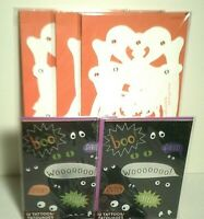 Papyrus Halloween Card Lot of 6 NEW 3 Skeletons 2 Tattoo