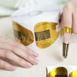 500pcs Horseshoe-shaped Nail Art UV GEL Nail Guide Sticker DIY Nails Makeup Tool