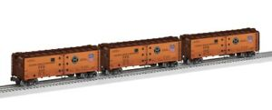 ✅LIONEL VISION LINE PACIFIC FRUIT EXPRESS REEFER 3 CAR SET W/ FREIGHTSOUNDS PFE