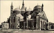 Padova Padua Italia s/w AK ~1920/30 Basilica di San Antonio Kirche ungelaufen