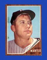 1962 Topps Set Break #200 Mickey Mantle NR-MINT *GMCARDS*